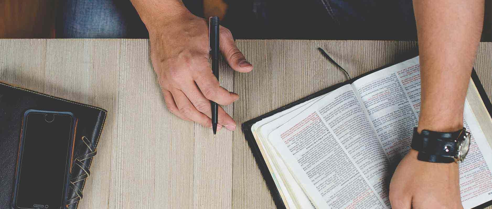 Zorgvuldig Bijbel lezen